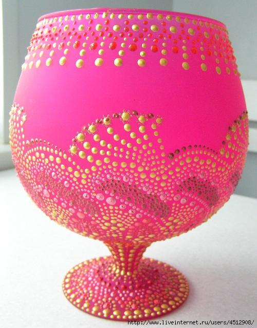Ваза розовая (500x639, 228Kb)