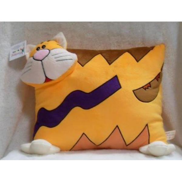 Мягкая игрушка Подушка кот бол., Размер: 25x30 см. ЦЕНА: 190 рублей.