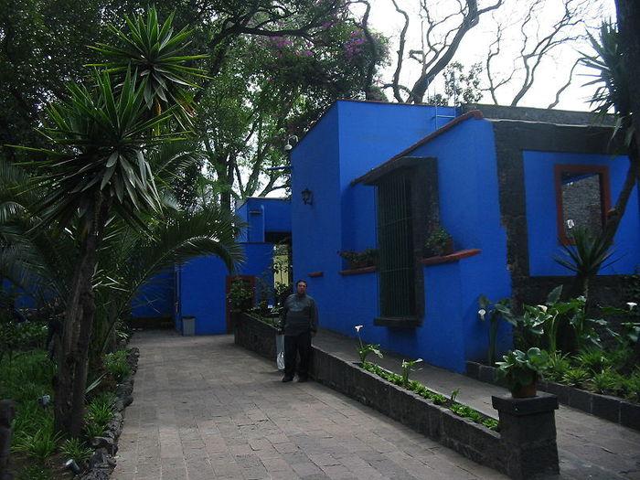 Аллея ведет к входу в Casa Azul (700x525, 93Kb)