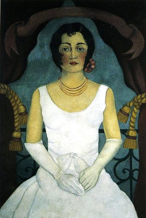 Портрет женщины в белом, 1930 (469x700, 95Kb)