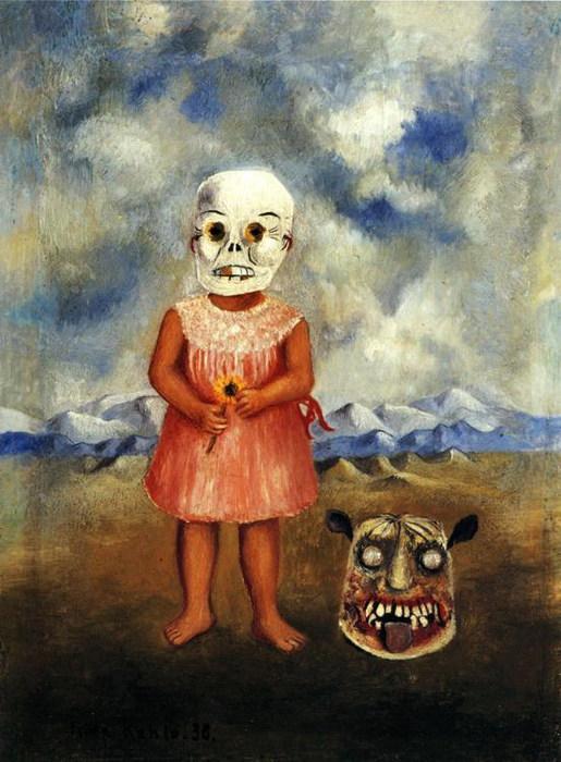Девочка в маске смерти 1938 (515x700, 104Kb)