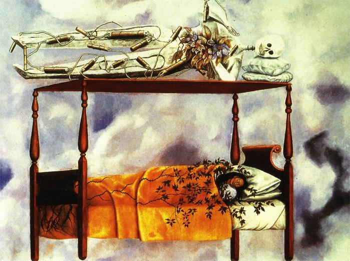Сон (Кровать), 1940 (700x522, 142Kb)
