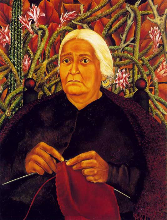 Portrait of Dona Rosita Morillo, 1944 (534x700, 107Kb)