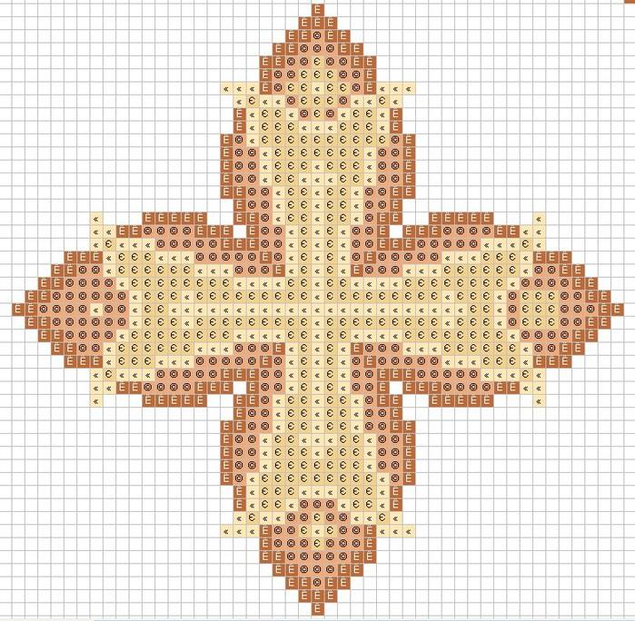 Вышивка крест церковный 49
