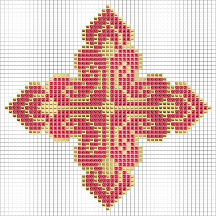 Вышивка крест церковный 80