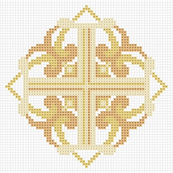Www крест схемы вышивки 427