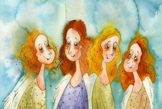 смеющиеся-ангелы (550x370, 65Kb)