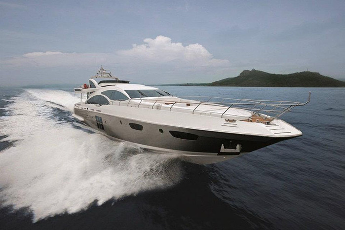 роскошная яхта фото