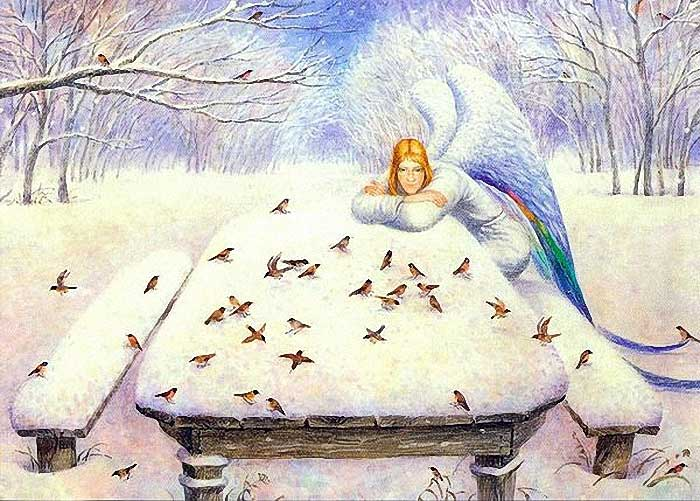 80331624_large_Vladimir_Rumjantsev__Angel_with_birdies (700x501, 73Kb)