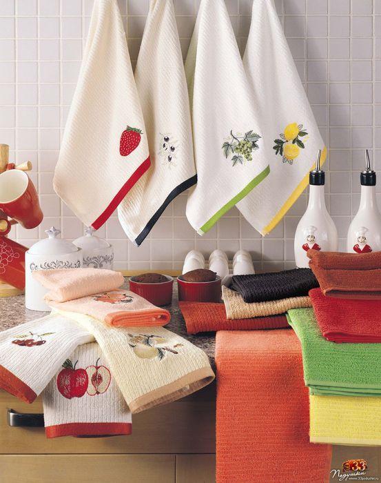 Кухонные полотенца KRISTAL - Мой магазин