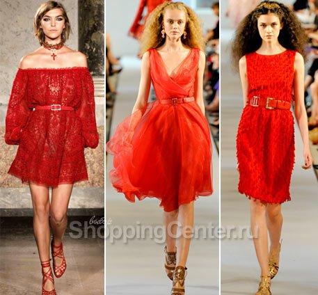 красное платье (457x424, 48Kb)
