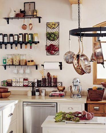 Маленькие кухни - идеи для вдохновения