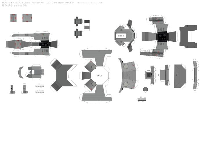 Модели из бумаги своими руками схемы кораблей