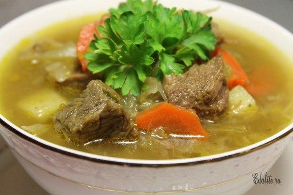 Как из говядины приготовить вкусный суп