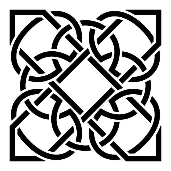002-0056 - Кельтский орнамент - Эскизы татуировок - Фотоальбом - Brothers Tattoo - сайт профессиональной татуировки.
