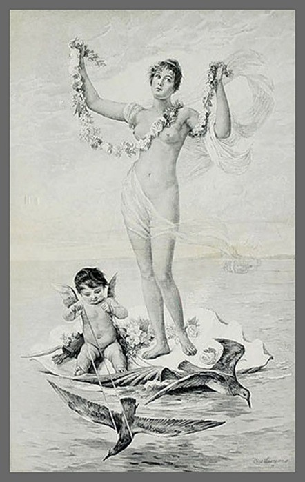 Венера и Амурчик. (442x700, 76Kb)