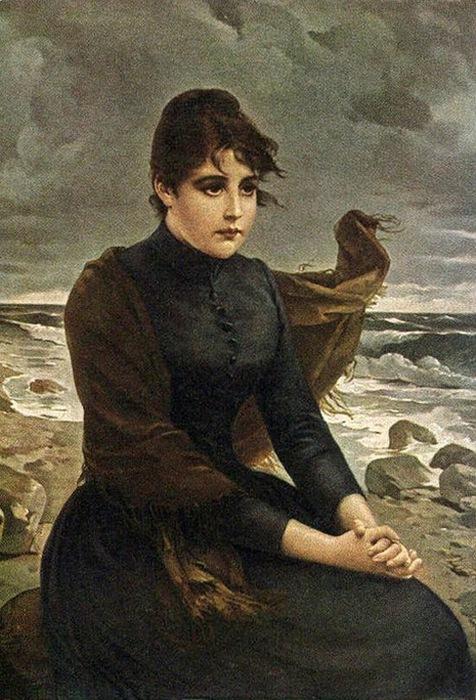 Потерянное счастье. Otto Theodore Gustav Lingner. (476x700, 138Kb)