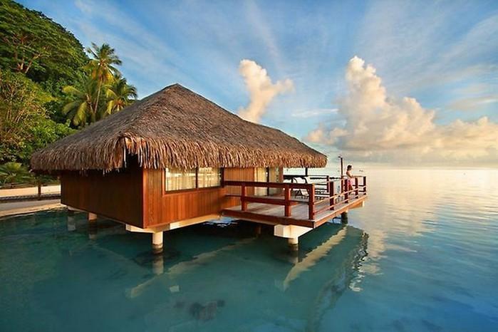 Фото-путешествие на остров Хуахине - Французская Полинезия 1 (700x466, 79Kb)