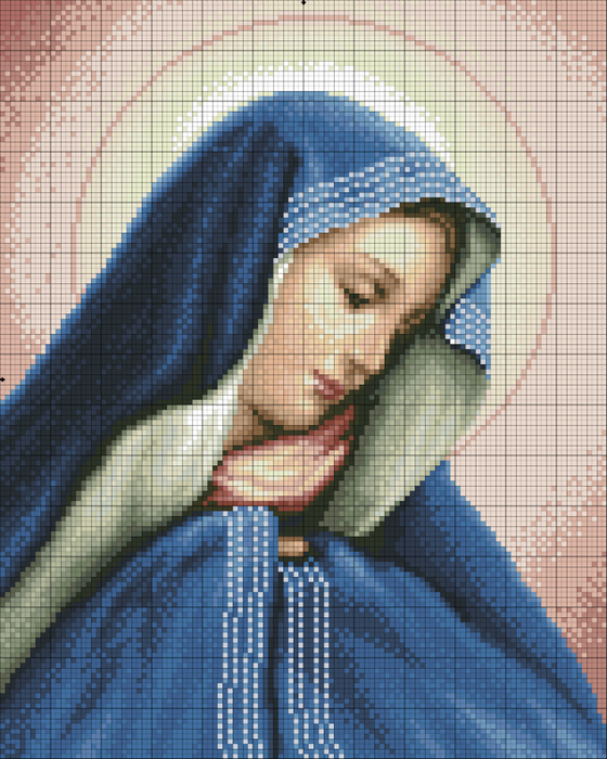 Madonna Dolorosa (560x700, 554Kb)