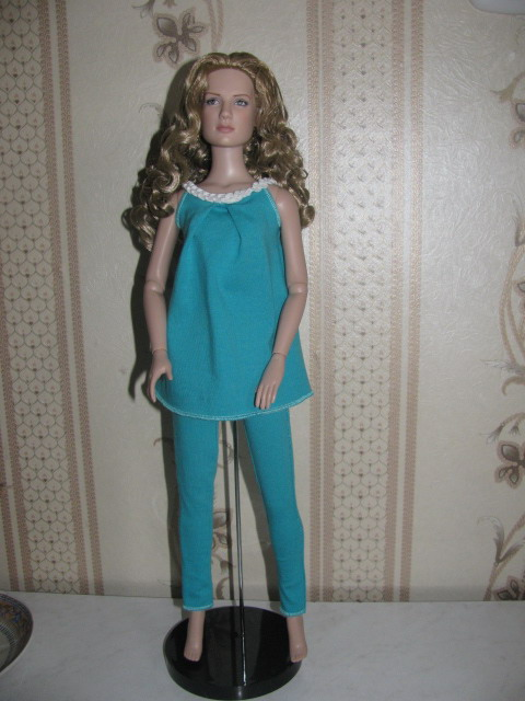 Пижама для куклы своими руками 93