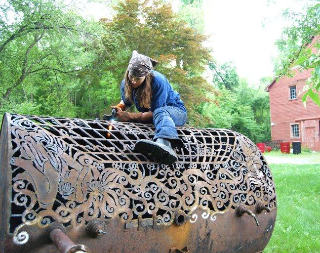 Изделия из дерева и железа своими руками 62