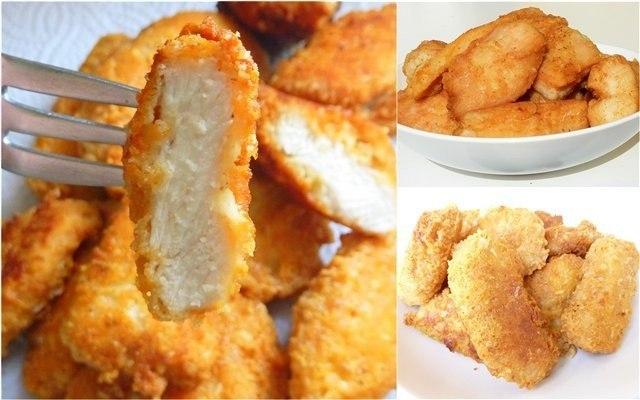 рецепт с куриного филе с фото