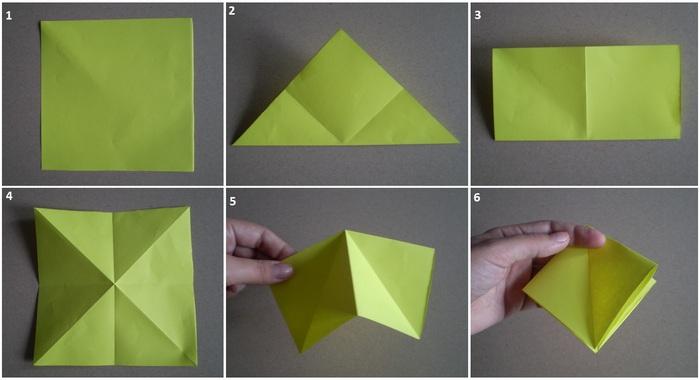 Как сделать корзинку из бумаги своими руками фото оригами