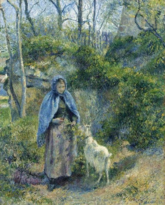 Păstoriță si Capra, 1881 (562x700, 99KB)