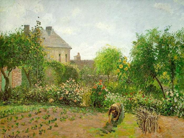 Сад художника 1898 (700x525, 160Kb)