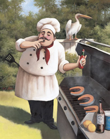 Barbecue-Chef-Hot-Sauce-Print-C10377715 (356x450, 45Kb)