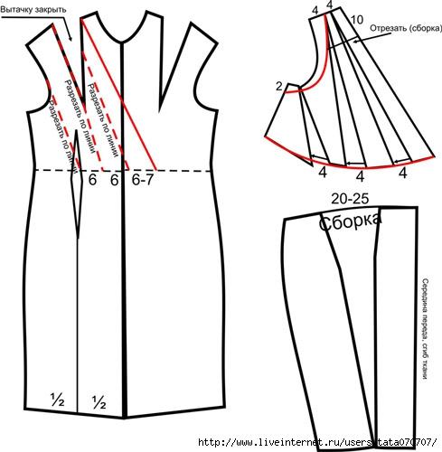 Как сшить платье в греческом стиле короткое /