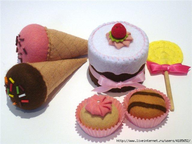 Как сделать сладости своими руками