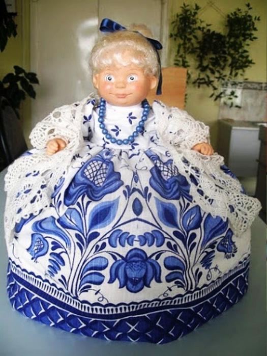 Как сшить куклу на чайник своими руками  875