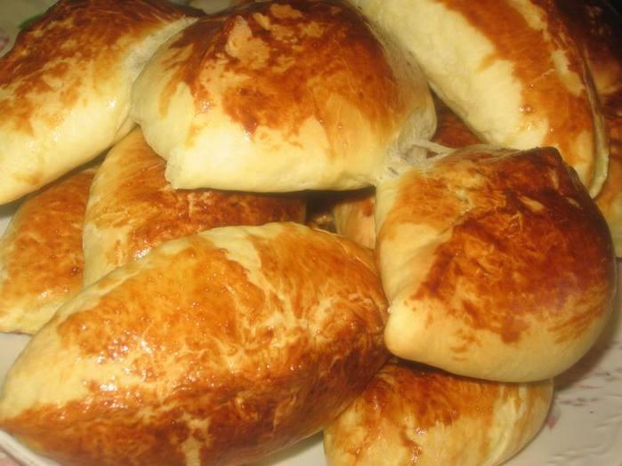 Пирожки из дрожжевого покупного теста рецепты в духовке