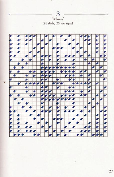 Вязание турецкий рисунок