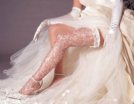 Фото подружек невесты в чулках