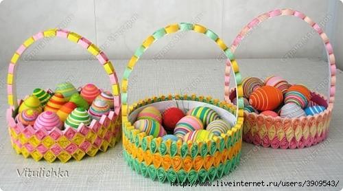 для пасхальных яиц сделаны
