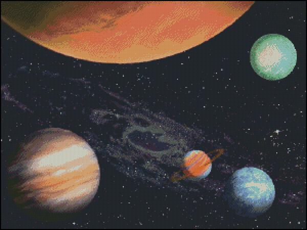 Планеты. звезды, космос.