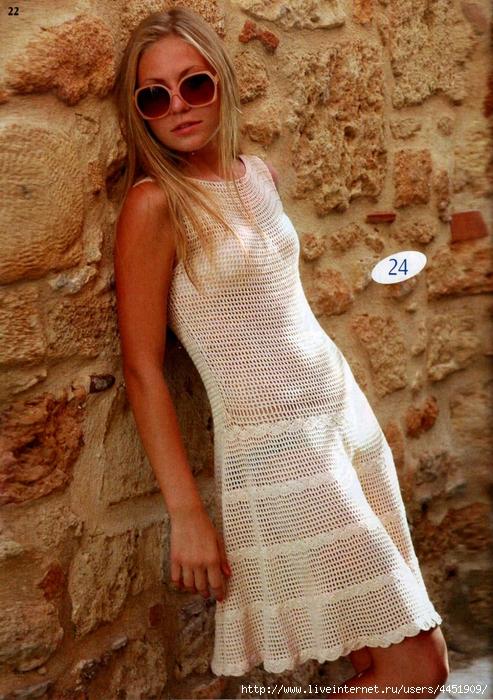 Вязание крючком костюмы платья