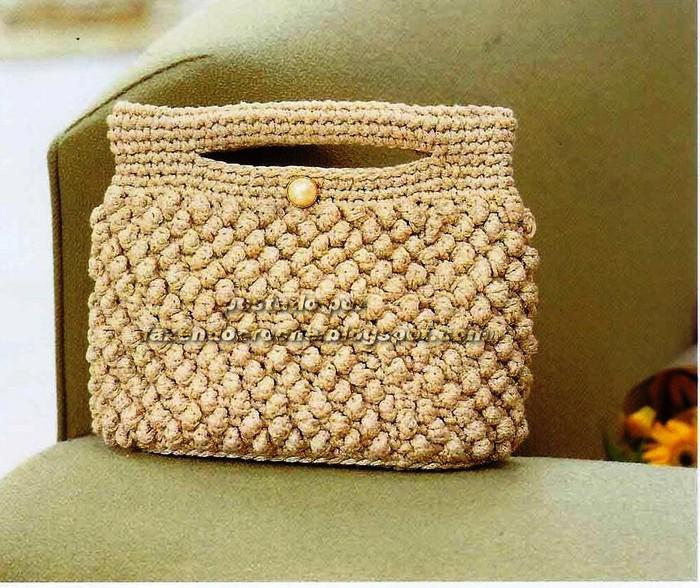 вязанные крючком сумки фасоны