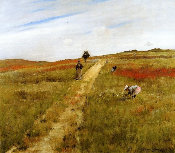 William Merritt Chase хужник7 (604x528, 85Kb)
