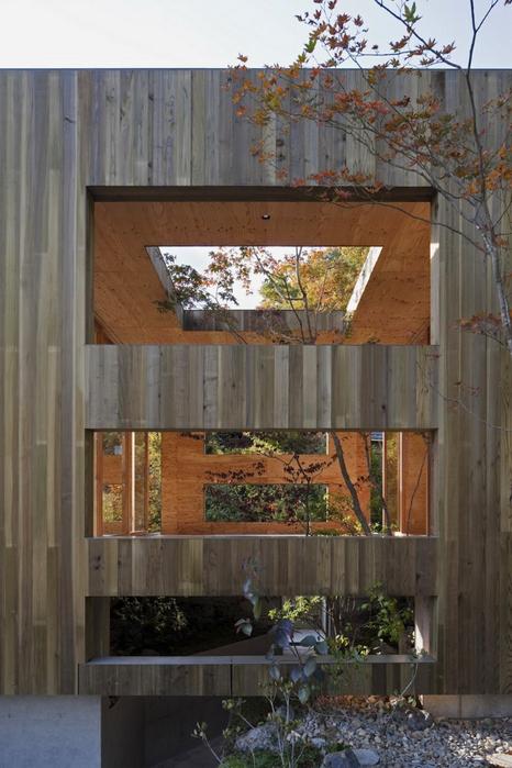 Самые необычные дома - японский дом Nest (Гнездо) 6 (466x700, 365Kb)