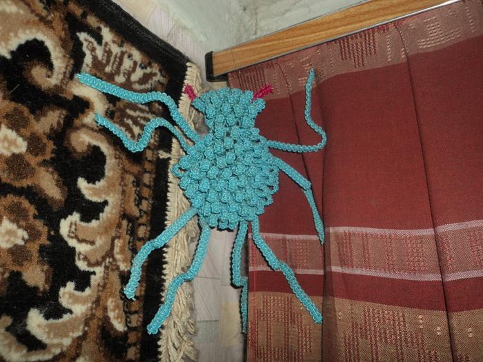 макраме паук (700x525, 209Kb)