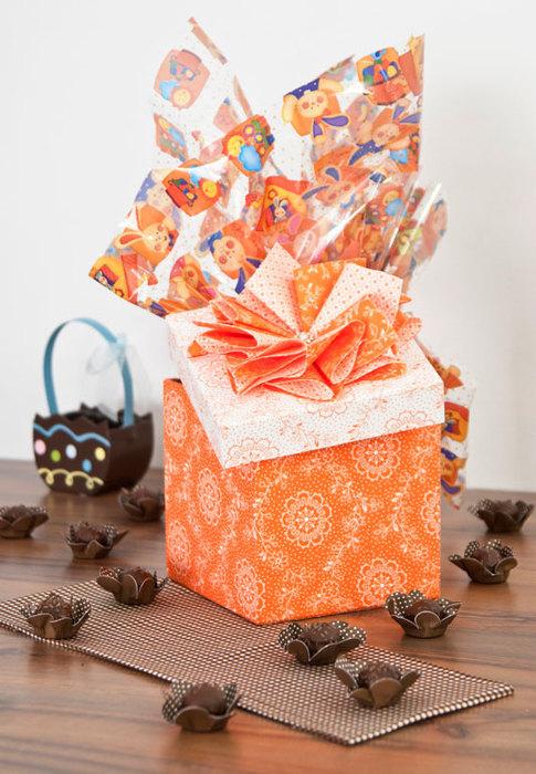 Сделать подарочную коробку из бумаги своими руками