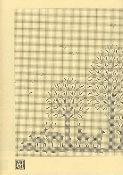 方格花松树窗帘 - 柳芯飘雪 - 柳芯飘雪的博客