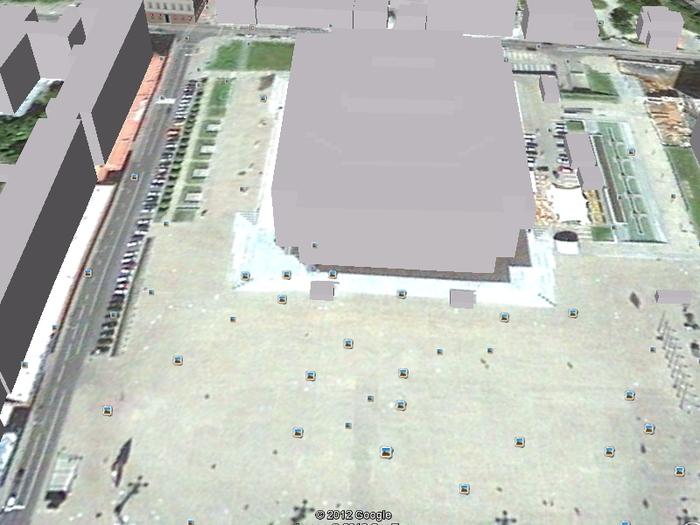 Схема Дворца Республик