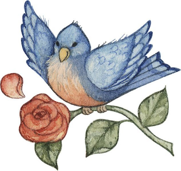 Blue Bird (576x545, 95Kb)