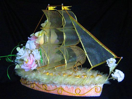 Корабли своими руками из конфет