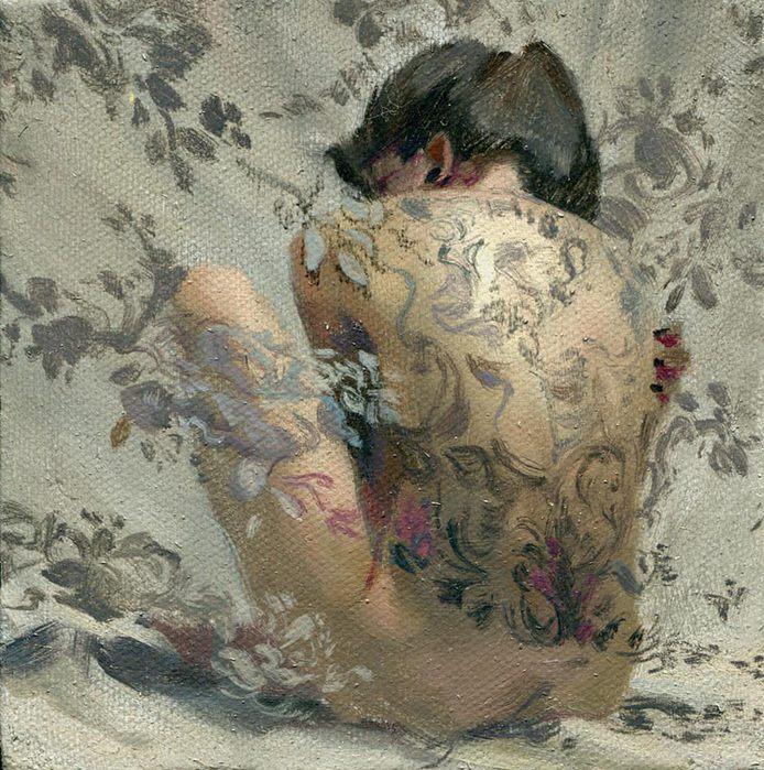 Девушки в живописи современных художников фото 552-876