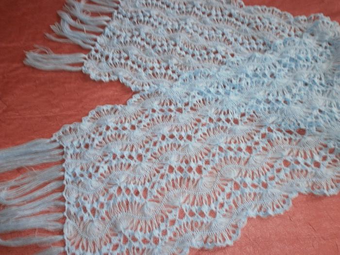 Вязание вилка палантины